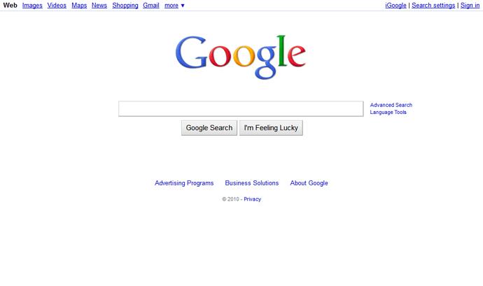 google-2010
