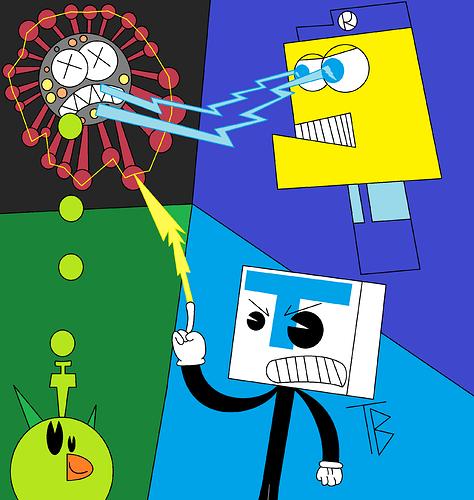 Coronavirus Monster vs Tugay BENDY Rabi Man Birdor