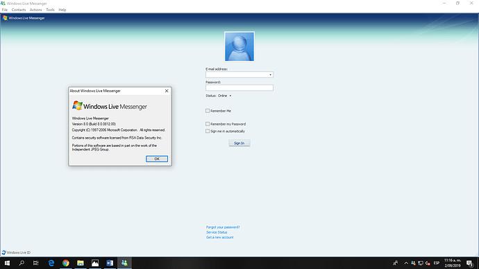 windows live messenger 8.0
