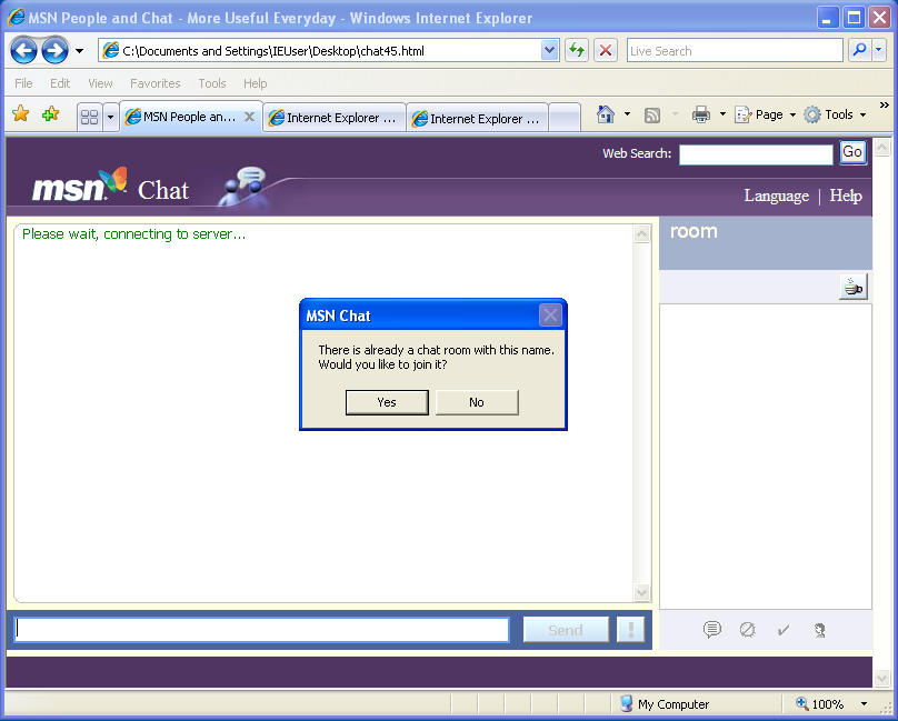Msn Chat Room Hotmail