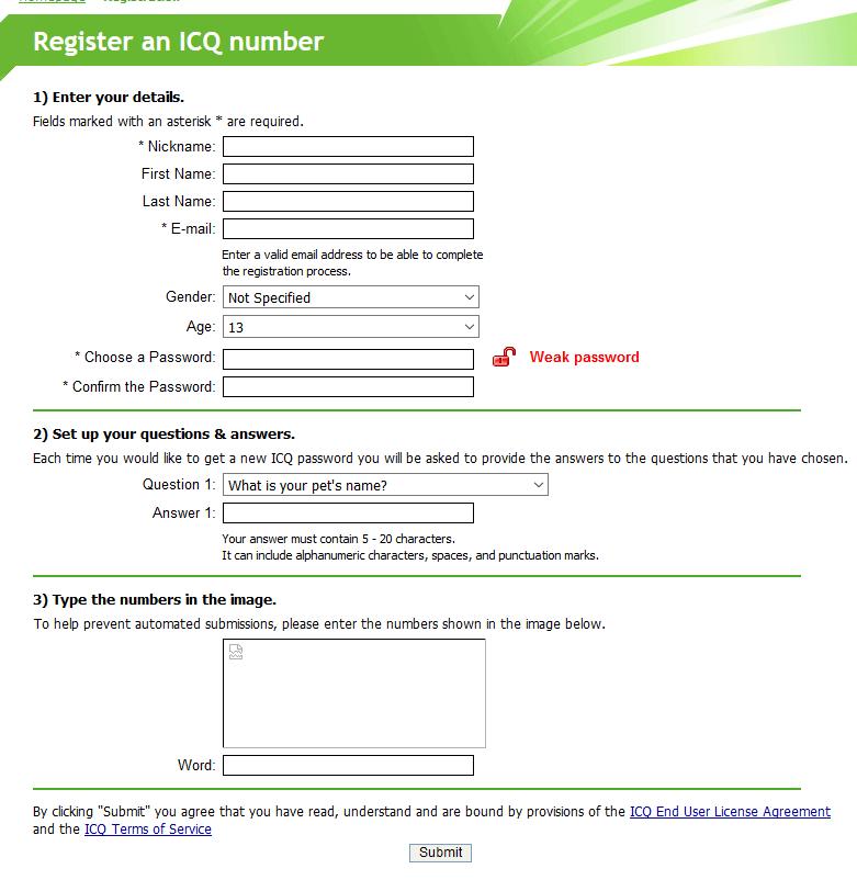 ICQ 6 0 server for Windows - ICQ - MessengerGeek