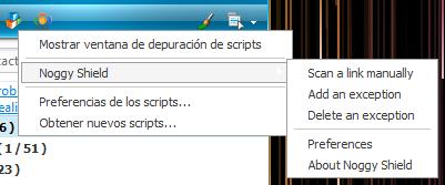 Noggy Shield 4.0 Script menu