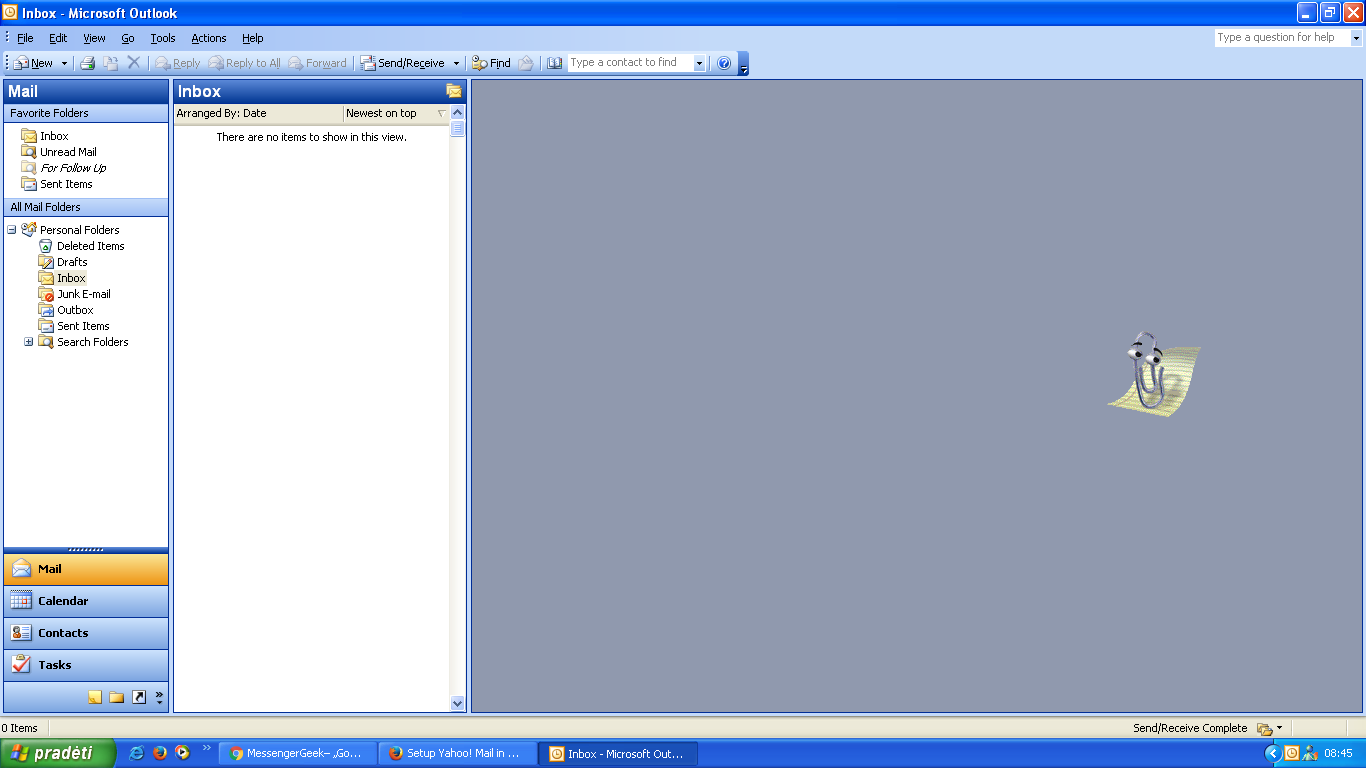 I got my Yahoo Mail account working with Microsoft Outlook